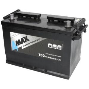 Akumulator 4-Max 100Ah azija +D