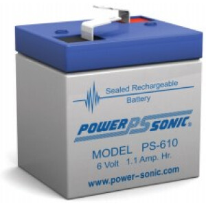 Power Sonic 6V 1Ah PS-610