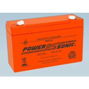 Power Sonic 6V 12,0Ah PS-6120
