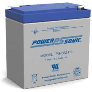 Power Sonic 6V 8,0Ah PS-682