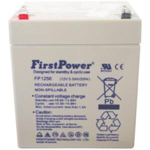 FirstPower FP1250 Standardna Hermetička Olovna Baterija 12V 5Ah
