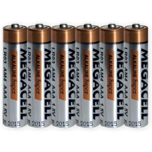 Baterija Megacell LR03 - AAA - 1.5V alkalna 6 kom.