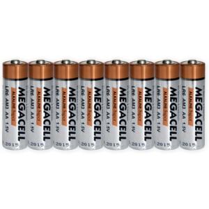 Baterija Megacell LR6 - AA - 1.5V alkalna 8 kom.