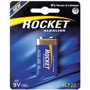 Baterija Rocket 6LF22 - 9V alkalna blister