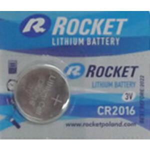 Baterija Rocket - 3V - Litijska - CR2016