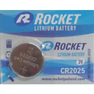 Baterija Rocket - 3V - Litijska - CR2025