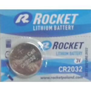 Baterija Rocket - 3V - Litijska - CR2032