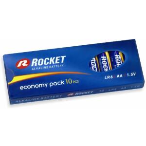 Baterija Rocket LR06 - AA - 1.5V alkalna 10 kom.