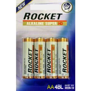 Baterija Rocket HD LR6 - AA - 1.5V alkalna