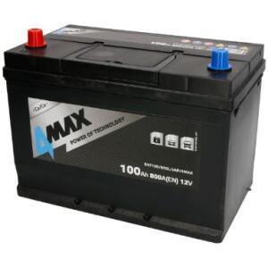 Akumulator 4-Max 100Ah azija +L