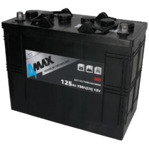 Akumulator 4-Max 125Ah X