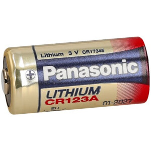 Baterija Panasonic CR123