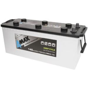 Akumulator 4-Max deep-cycle 140Ah stacionarni