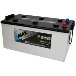 Akumulator 4-Max deep-cycle 230Ah stacionarni