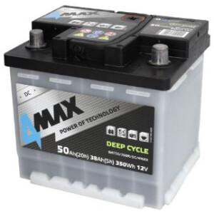 Akumulator 4-Max deep-cycle 50Ah stacionarni