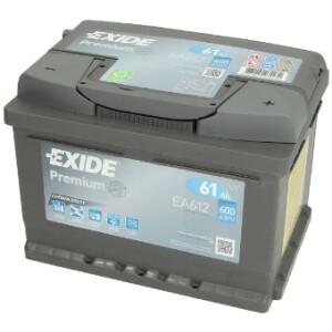 Akumulator Exide premium EA612