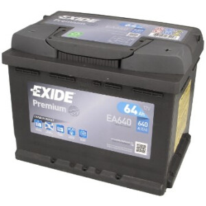 Akumulator Exide premium EA640