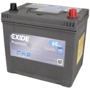 Akumulator Exide premium EA654