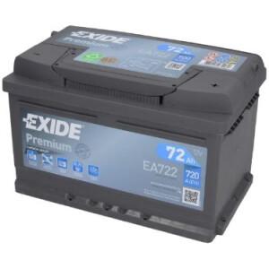 Akumulator Exide premium EA722