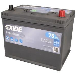Akumulator Exide premium EA754
