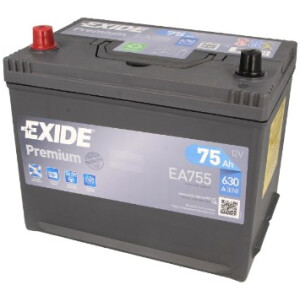 Akumulator Exide premium EA755