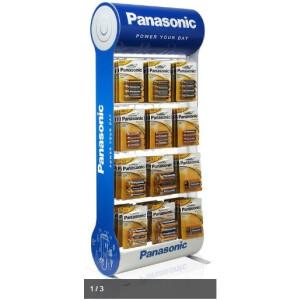 Panasonic Alkalne baterije - stalak