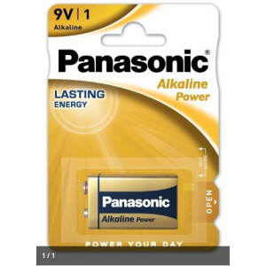 Panasonic Alkaline Power  6LR61 9V (Blister)