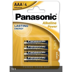 Panasonic Alkaline Power LR03- AAA (Blister)