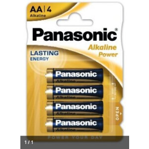 Panasonic Alkaline Power LR6- AA (Blister)
