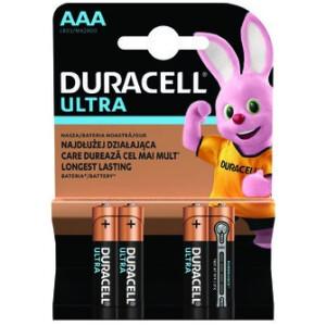 Baterija Duracell Ultra Powercheck LR3 - AAA - 4 kom.